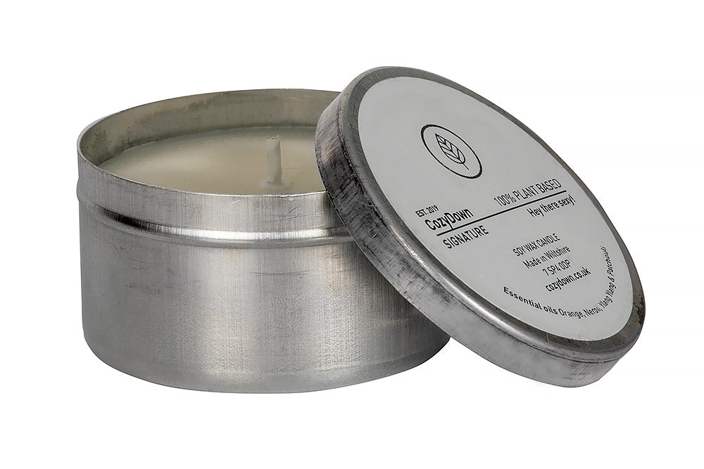 CozyDown Signature Travel Tin