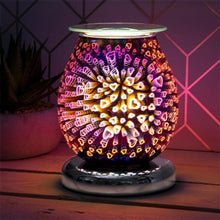 Load image into Gallery viewer, Purple Hearts Aroma Lamp