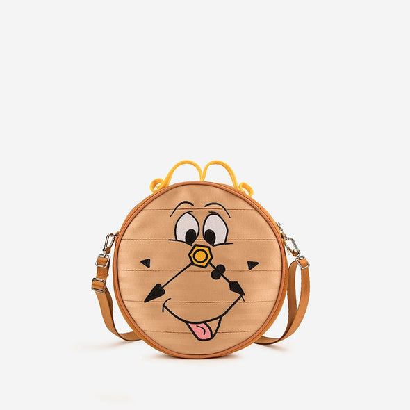 Beauty and the Beast Cogsworth Front