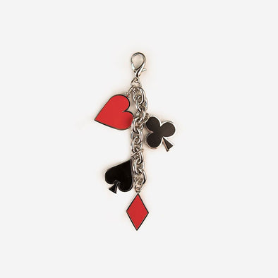 "Disney Key Charm ""Off With Her Head! Front"