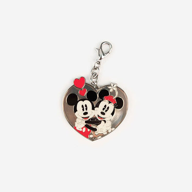 Disney Key Charm Mickey and Minnie in Love