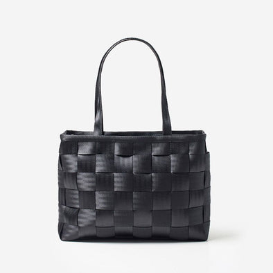 Executive Tote Black Front