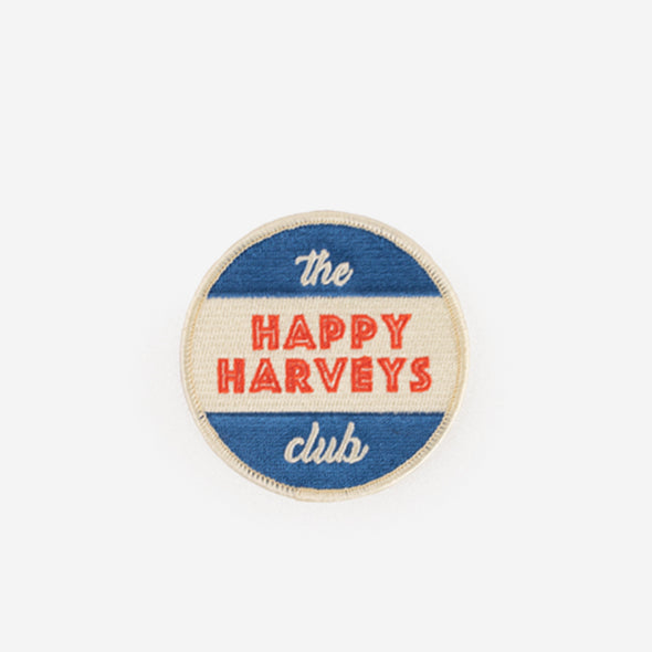 Patch Happy Harveys Club Front