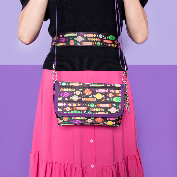foldover crossbody candy lifestyle