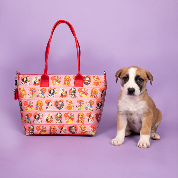 Mini Streamline Tote Puppy Love Lifestyle