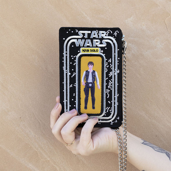 Coin Purse / Star Wars Vintage Action Figures