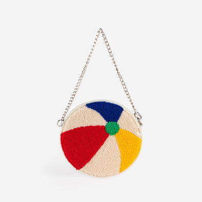Coin Purse Beach Ball Front