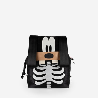 Backpack Disney Skeleton Goofy Front
