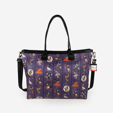 Vertical Medium Streamline Tote Disney Mickey and Friends Front
