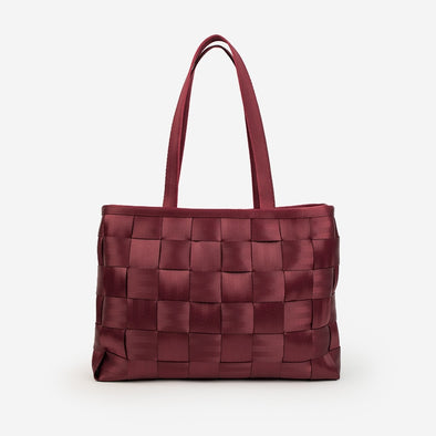Executive Tote / Black Cherry