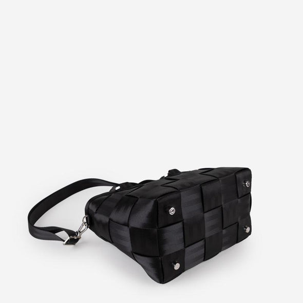 Carriage Medium Tote Black Bottom