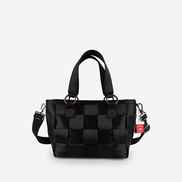 Carriage Medium Tote Black Front