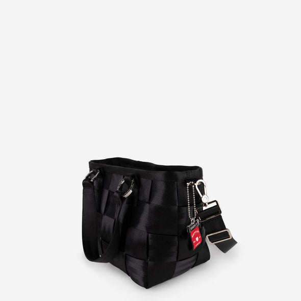 Carriage Medium Tote Black Side