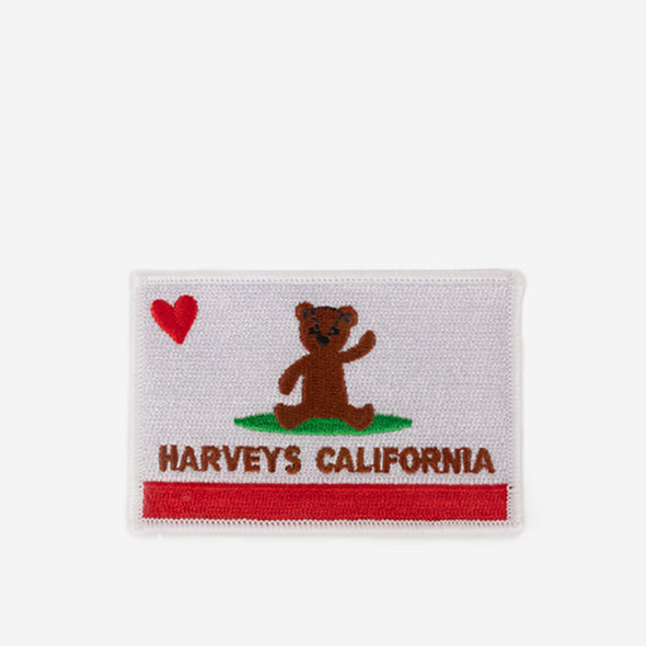 Patch Cali Bear Front No Packaing