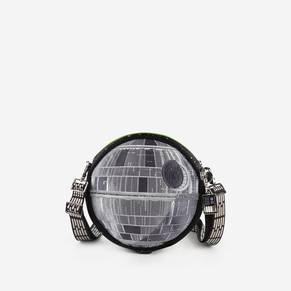 convertible crossbody star wars death star front