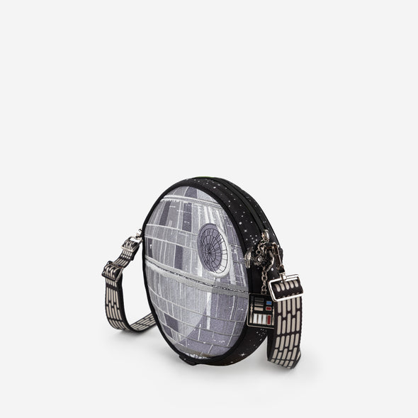star wars death star convertible crossbody side view