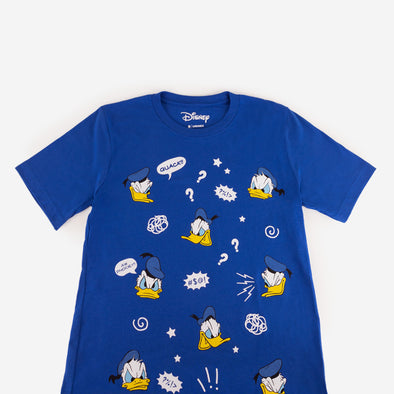 Crew Neck Disney Donald Duck Front