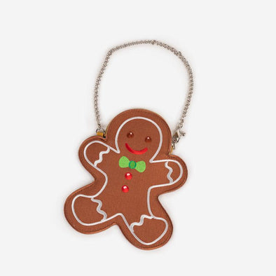 Coin Purse Gingerbread Front