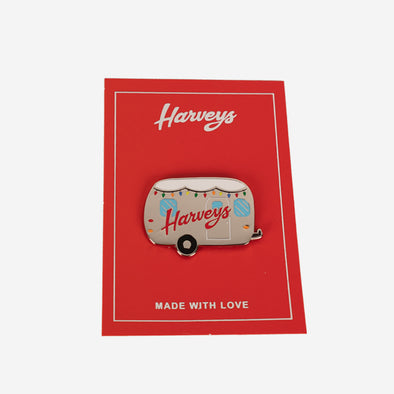 Lapel Pin / Holiday Airstream Front