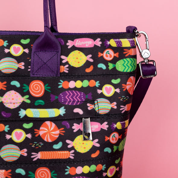 Mini Streamline Tote / I Want Candy