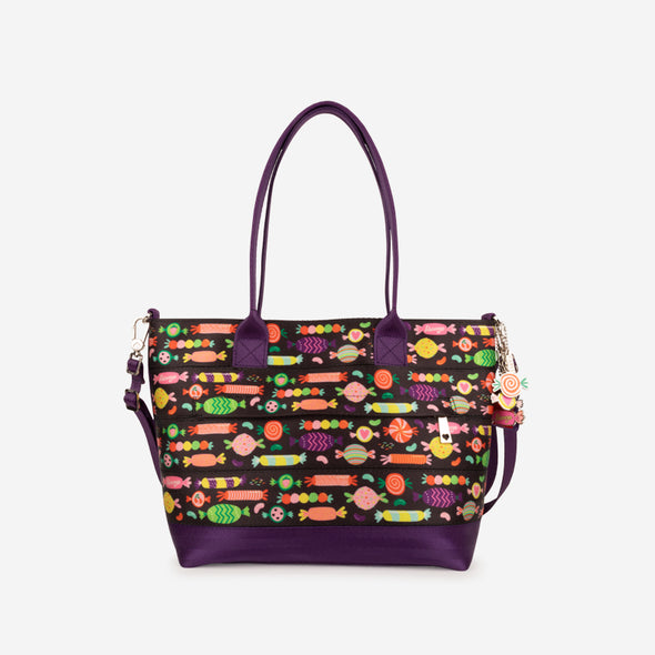 Mini Streamline Tote Candy Front