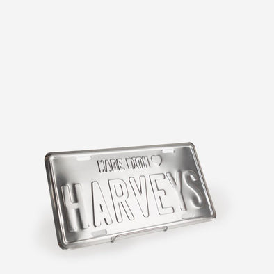 License To Love Harveys Chrome License Plate