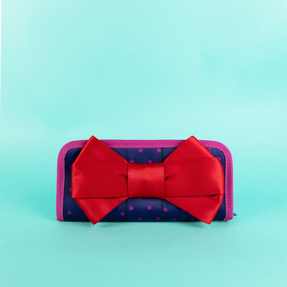 bow clutch wallet merry and bright lifestyle