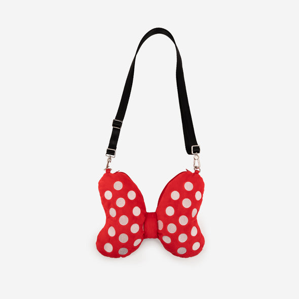 Bow Plush Crossbody Minnie Mouse