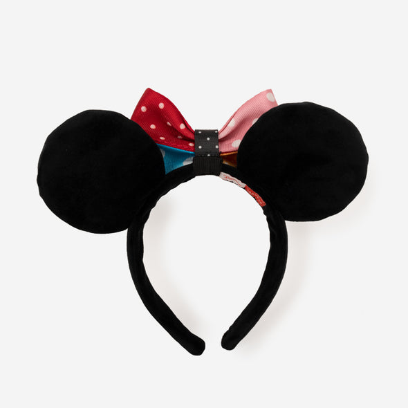 Headband Minnie Mouse Lots of Dots Back