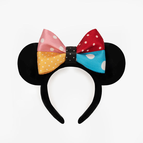 Headband Minnie Mouse Lots of Dots