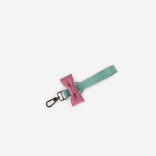 Bow Keychain Love You So Matcha Top