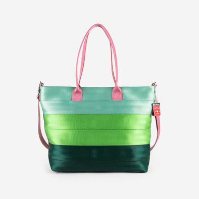 Medium Streamline Tote Love You So Matcha Front