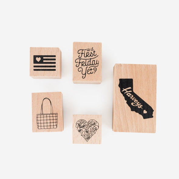 Made With Love Stamp Set Harveys Rubber Stamp