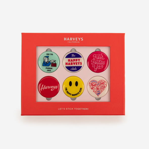 Magnet Set / Happy Harveys Club