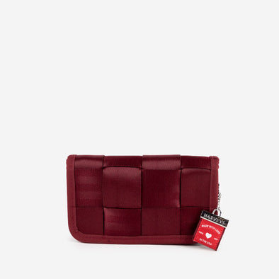 Classic Wallet Maroon Front
