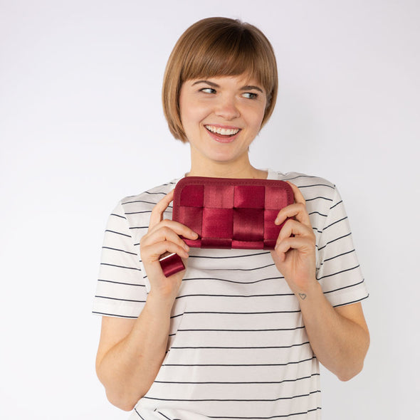 Classic Wallet Maroon Lifestyle