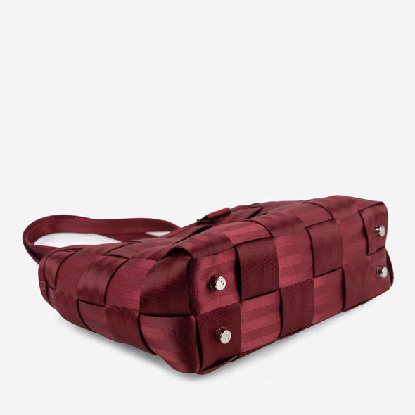 Large Tote Maroon Bottom