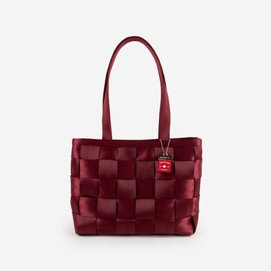 Large Tote Maroon Front