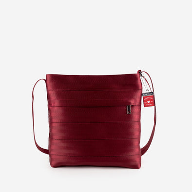 Streamline Crossbody Maroon Front
