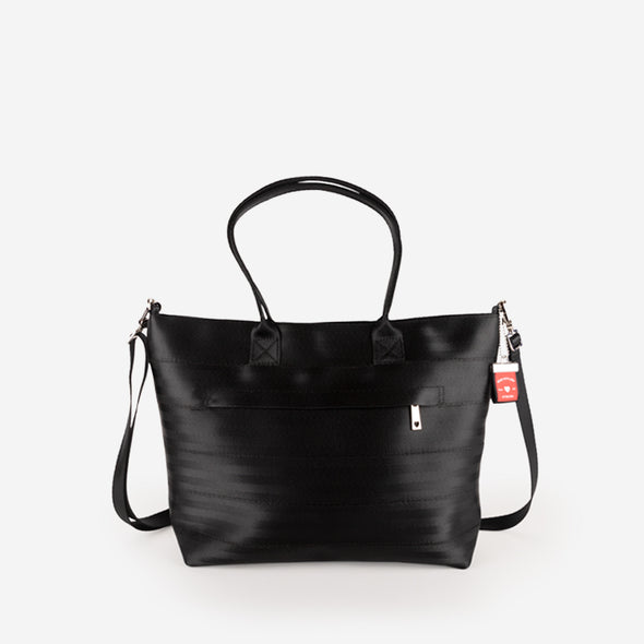 Medium Streamline tote Black front