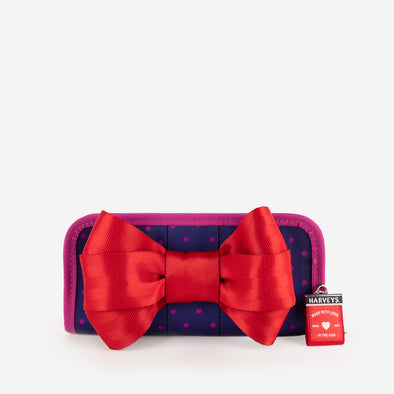 Bow Clutch Wallet / Merry and Bright Front