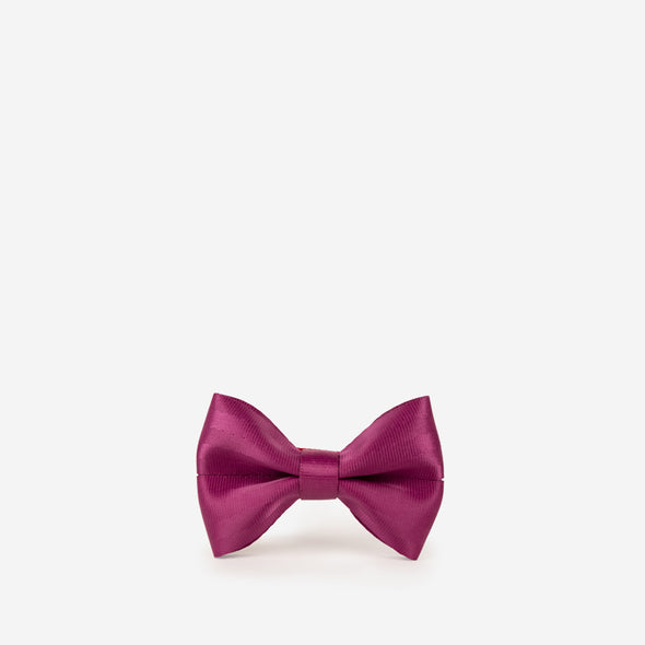 Large Bow / Magenta Front