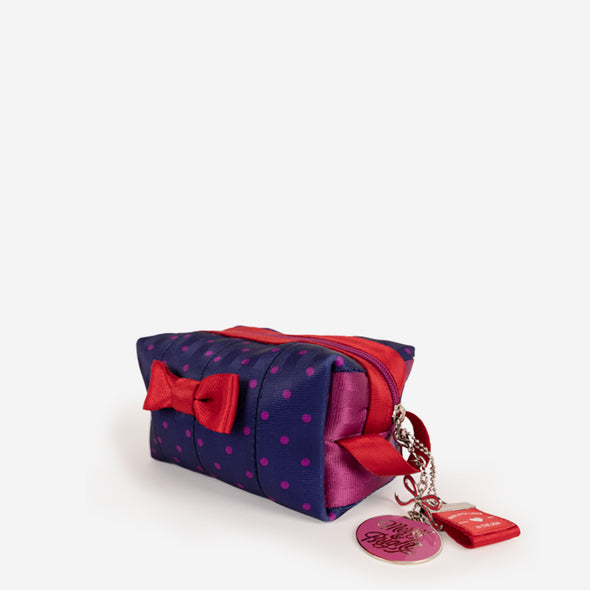 Mini Bow Dopp Kit / Merry and Bright Side
