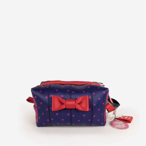 Mini Bow Dopp Kit / Merry and Bright Front
