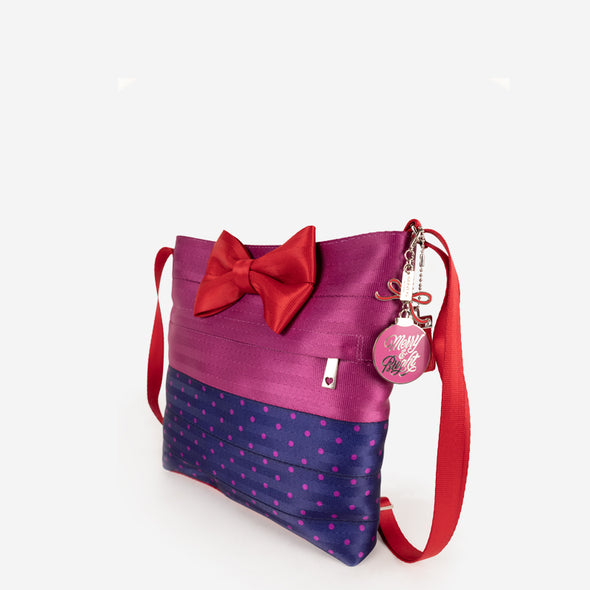 Bow Streamline Crossbody / Merry and Bright Side