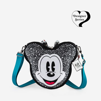 Convertible Crossbody Disney Mickey heart Minnie Designer Series Front