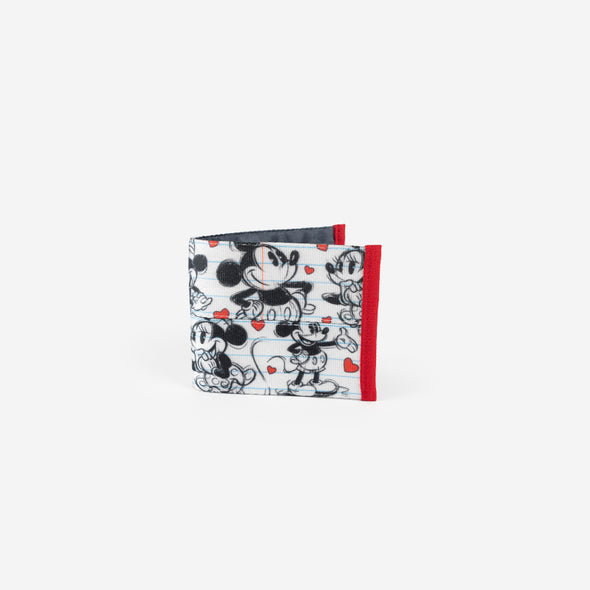 Billfold Disney Mickey heart Minnie Front