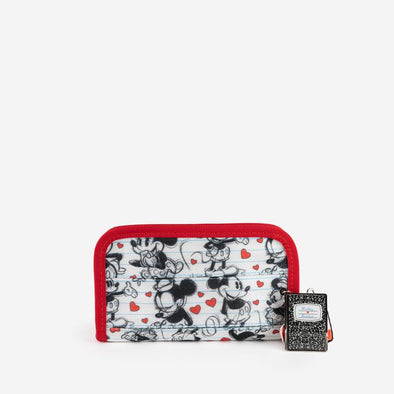 Classic Wallet Disney Mickey heart Minnie Front