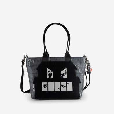 Mini Streamline Tote Spooky Mickey Front