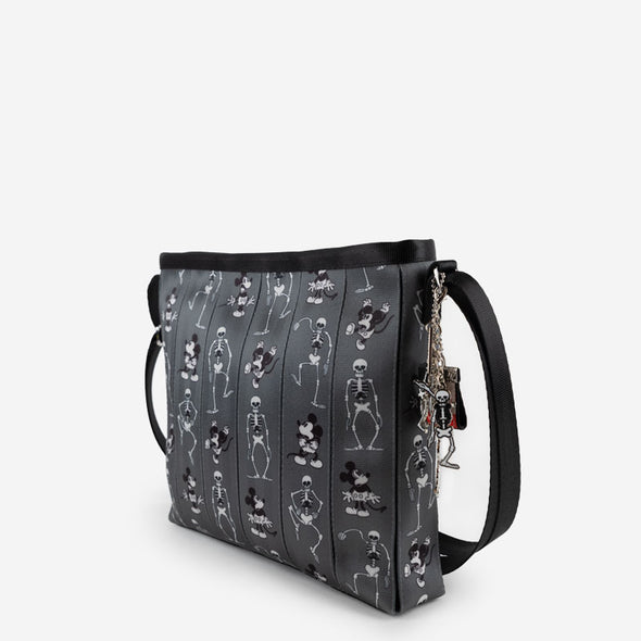 Vertical Streamline Crossbody Spooky Mickey Side